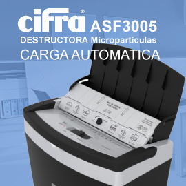 Destructora de Documentos Cifra ASF3005